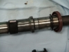 Projects - Porcshe 928 - view of modified camshaft Journal to fit s4 heads