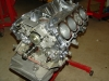 Projects - Porcshe 928 - view of engine on stand!