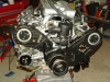 Projects - Porcshe 928 - view of engine on stand 3