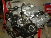 Projects - Porcshe 928 - view of engine on stand 4